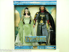 Rare LORD OF THE RINGS ARWEN Elven & Return King ARAGORN Giftset LOTR_B3449_NRFB