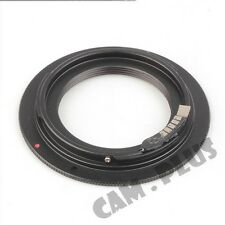 2nd AF Confirm M39 Screw Lens to Canon EOS EF Adapter 7D 550D 1100D 600D