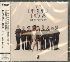 THE PEPPER POTS-WE MUST FIGHT-JAPAN CD F04