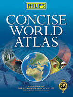 (Very Good)-Philip's Concise World Atlas (Hardcover)--0540084069