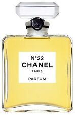 CHANEL No 22 PARFUM BOTTLE PURE PERFUME FULL RETAIL SIZE NIB
