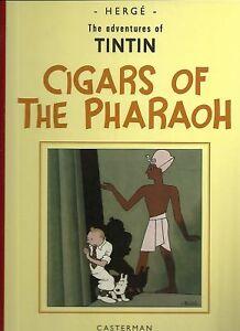 TINTIN THE ADVENTURES OF TINTIN CIGARS OF THE PHARAOH