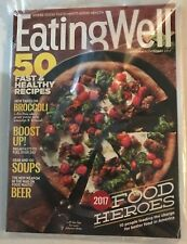 EATING WELL MAGAZINE September/October 2017 FOOD HEROES BRAND NEW SEALED