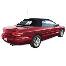 Sebring Convertible Top 96-00 in Black Twillfast Cloth with Heated Glass Window