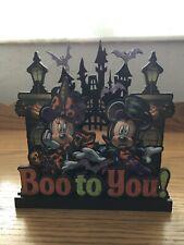 Walt Disney World Halloween Boo To You Mickey And Minnie Sign