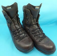 ALTBERG Defender Leather Brown Combat Boots Work Hunting Hiking Military size 8