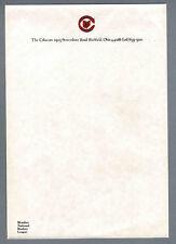 "1976-77 NHL Cleveland Barons, Original Letterhead, 10 Pieces, 7 1/4""x10 1/2"""