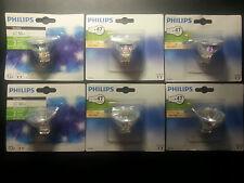 6  Dicroicas PHILIPS halogenas GU5.3 35W -- 12v (TRANSFORMADOR)