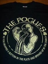 THE POGUES SPEW Punk Band T-Shirt SMALL NEW