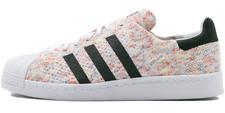 adidas Originals Superstar 80s Primeknit Schuhe Sneaker Turnschuhe weiß S75845
