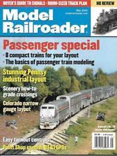 Model Railroader May 2003 Passenger Trains Pennsy Britain Narrow Gauge DT&I GP9