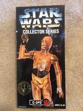 "1997 Hasbro Kenner Star Wars Collectors Series C-3PO 12"" Action Figure"