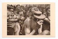 AFRIQUE scenes types ethnies missions  Ethnics OUBANGUI-CHARI  femmes à plateaux