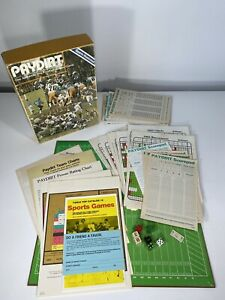 Vintage 1979 Avalon Hill Paydirt Pro Football Board Game Sports Illustrated