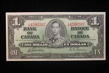1937 Canada. ($1) One Dollar. Series J/M. Gordon-Towers.