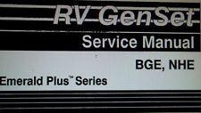 "Onan RV Generator ""Emerald Plus"" BGE & NHE Service Manual"