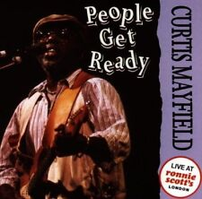 Curtis Mayfield People get ready-Live at Ronnie Scott's London (July 31st.. [CD]
