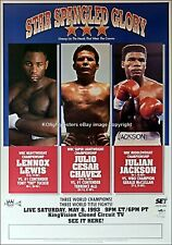 GERALD McCLELLAN vs JULIAN JACKSON 02 BOXING MUGS AND PHOTO PRINTS