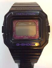 Genuine Casio G Shock Glx 5500 3151 Negro/Púrpura Reloj * necesita batería *! mira!