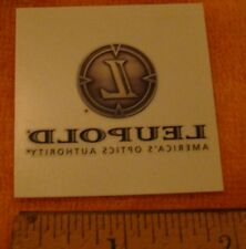 Leupold Tatoo Optics Decal Sticker