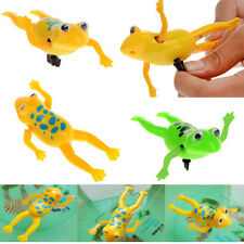 2Pcs Bathroom Tub Bathing Toy Clockwork Wind UP Plastic Bath Frog Baby kids New