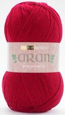 Hayfield Bonus Aran With Wool Yarn 400g Balls - Choice of Shades 950 Cherry