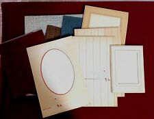 Lot of 10 Vintage Picture Photograph Frames Baby, Lewis of Knox PA, Bell Foto