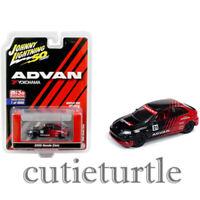 Johnny Lightning 2000 Honda Civic #21 1:64 Advan Yokohama Black Red JLCP7214