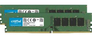 8GB Crucial DDR4 2400MHz PC4-19200 CL17 1.2V Dual Memory Kit (2 x 4GB)