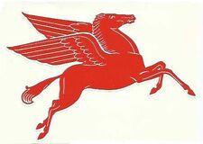 Pegasus Flying Horse Right Facing  - Retro Sticker