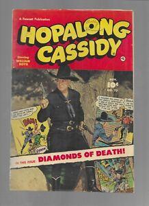 Hopalong Cassidy #73 Fawcett 1952 Golden Age Western Comic Book Fine