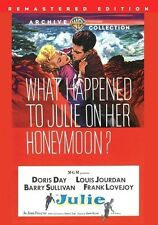Julie 1956 (DVD) Doris Day, Louis Jourdan, Barry Sullivan, Frank Lovejoy - New!