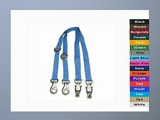 Adjustable CROSS TIES Horse Pony Barn Stable Adjusts 7 feet! Panic & Bull Snaps