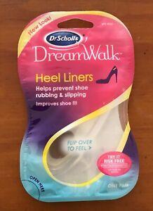 Dr. Scholl's HEEL LINER DreamWalk Clear Gel 1 pair