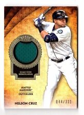 Nelson Cruz MLB 2017 TOPPS Tier One reliquie #/331 (Seattle Mariners)