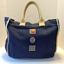 Walt Disney Winnie the Pooh Denim Bag Handbag Purse Shopper Tote Bag