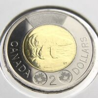 2014 Canada 2 Dollars Toonie Brilliant Uncirculated Canadian Coin Two N624