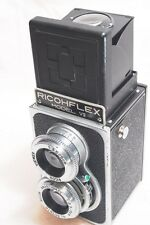 "[NEAR MINT] Ricoh Ricohflex Model Ⅶ 7 TLR Film Camera ""TESTED"" /80mm F3.5 Lens"