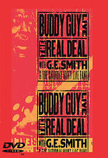 Buddy Guy Live The Real Deal Brand New DVD G.E. Smith Saturday Night Live Band