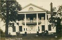 Wilkerson Jumel Mansion ( WIFE OF AARON BURR ) New York City Real Photo Postcard