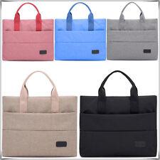 "Stylish 15"" Inch Sleeve Case Carry Notebook Laptop Bag Purse Tablet iPad iPod UK"