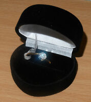 New 9ct Gold 15pt DIAMOND ENGAGEMENT RING Ex-High Street SOLITAIRE LOOK