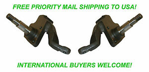 """EMPI 22-2858 LINK PIN 2 1/2"""" DROP SPINDLE DRUM BRAKES UPTO 65 VW BUGGY BUG GHIA"""
