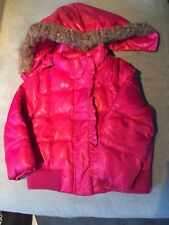 Toddler Girls Pink COAT with Detachable HOOD SIZE 3T CIRCO