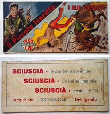 Striscia IL PICCOLO SCERIFFO IIª Serie N 90 TORELLI 1953