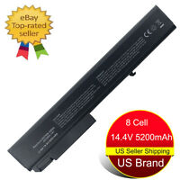 8 Cell Battery for HP EliteBook 8530p 8530W 8540P 8540W 8730P 8730W Pro 6545b US