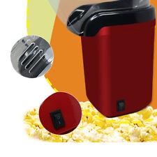 Mini Hot Air Popcorn Maker Household Electric Popcorn Popper Popping Machine Red
