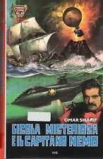 L'isola misteriosa e il capitano Nemo (1973) - VHS NUOVO