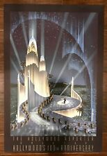"""Robert Hoppe """"The Hollywood Reporter 100th Anniversary"""" Lithograph - Art Deco"""