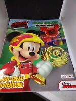 Mickey and the Roadster Racers - Giant Sticker Activity Book New/Sealed